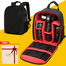 Backpack Camera Correa Camara Fotografica Digital Case For Nikon D5300 D3100 D90 D3400 Canon 1300D 750D 80D 650D 6D 7 Camera Bag