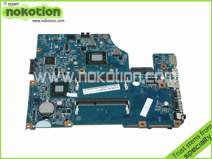 NOKOTION Motherboard for Acer Asipre V5-531 48.4VM02.011 NBM1K1100A i3-2375M HM77 GMA HD4000 DDR3 Intel Laptop Mother Board laptop motherboard for acer asipre m3 581t nbry811004 jm50 i3 2367m hm77 gma hd 3000 ddr3