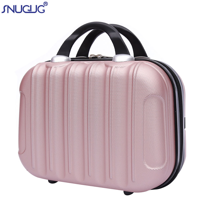 ABS Professional Makeup Case Organizer Waterproof Beauty  Make Up Suitcases Necessary Portable Travel Cosmetics Bag For Female