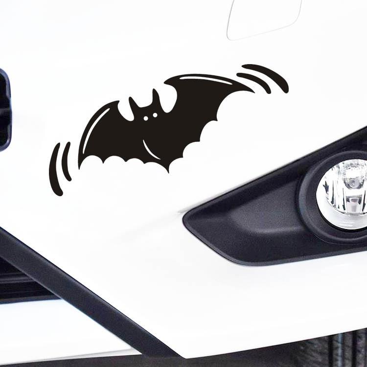 26a36f6a4 Aliauto عاكس سيارة التصميم هالوين الخفافيش سيارة ملصقا و شارات ل فورد فوكس  2 شيفروليه كيا vw golf 7 سكودا opel تويوتا