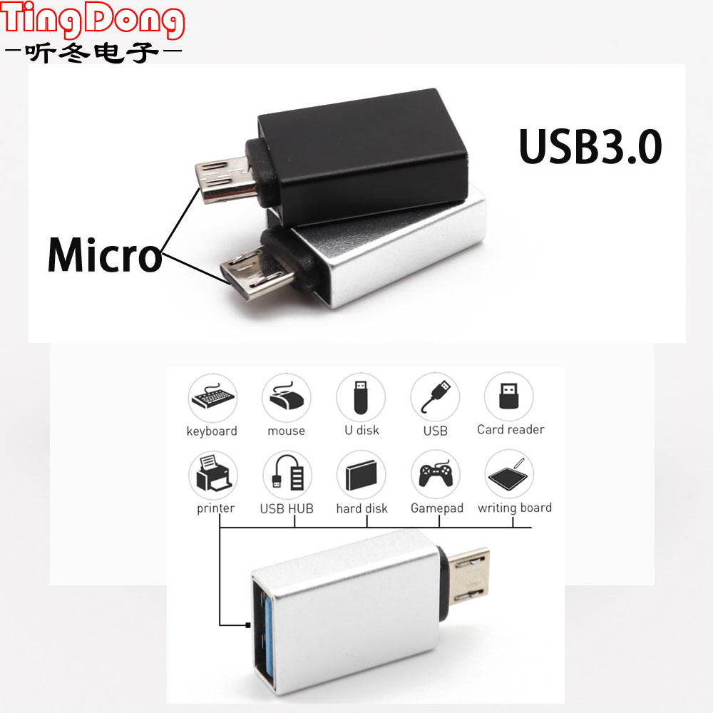 Worldwide delivery micro usb 3 0 otg adapter in Adapter Of