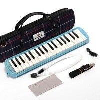 Atacado de alta qualidade apollo m-37k teclado 37 teclas melodica harmonica para ensino (com bolsa de transporte)