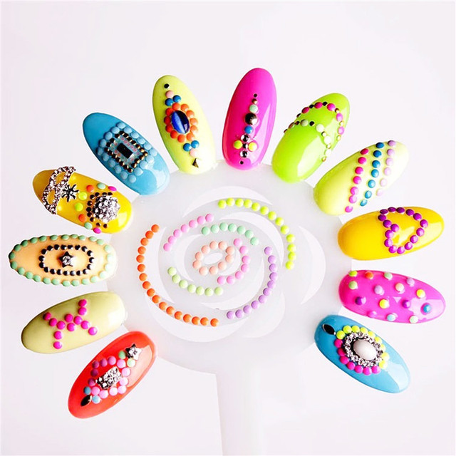 Nail Polish Color Swatches Display Hot Sale Practice False Nail Art ...