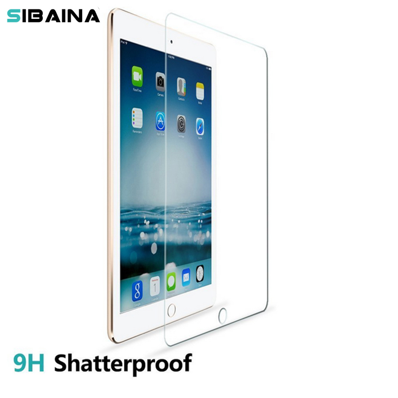0.3mm 9H Premium Protective Film For Apple iPad mini 2 3 4 Tempered Glass For iPad Air 2 ipad 5 6 Pro 9.7 inch Screen Protector