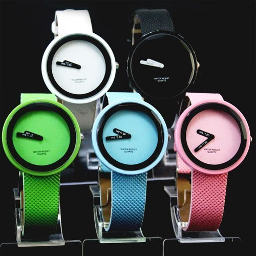 5PCS/Lot Girls Ladies Womens Fashion Dress Wrist Watch