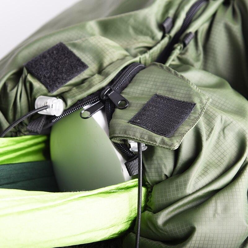 Image 5 - VILEAD Portable Hammock Sleeping bag Ultralight Waterproof Camping Hiking Outdoor Sleep Bed Adult Survival Winter Bed Bag Travel-in Sleeping Bags from Sports & Entertainment