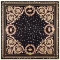 Nueva Ariival 100% del estilo de Bohemia seda bufanda cuadrada tamaño 100 cm * 100 cm alta calidad cuadrado grande Mufler dama de moda chal