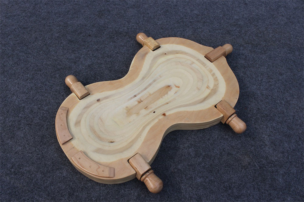 Neue Mode Neue Violine Extras Holz Präsentierteller/violine Cradle Carving Oder Reparatur Hohe Qualität