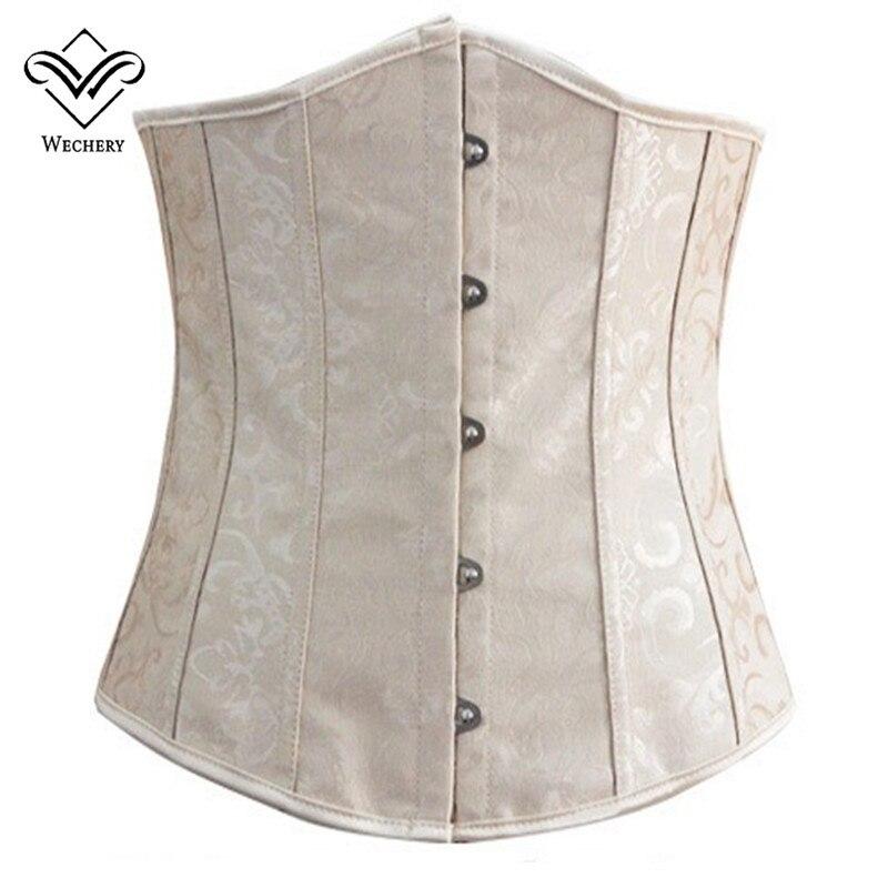 Wechery Slimming Belt Waist Trainer Body Shaper Women Underbust Corset Waist Cincher Plus Size S 6XL