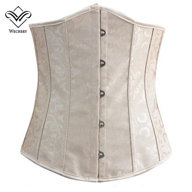 Wechery Slimming Belt Waist Trainer Body Shaper Women Underbust Corset Waist Cincher Plus Size S-6XL Modeling Strap Binder