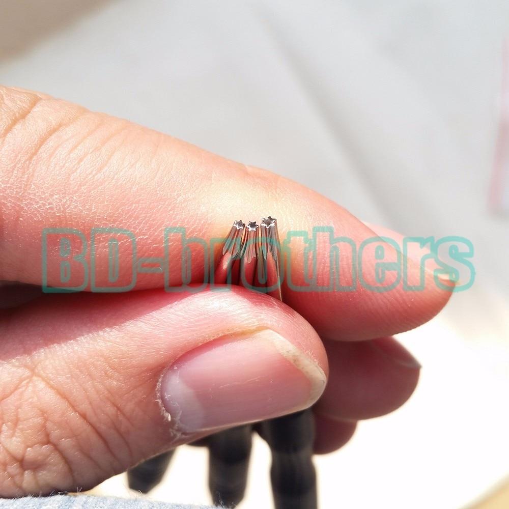Nieuwe Aangekomen Zwart T6 Schroevendraaier Torx Schroef Drivers Key Tool voor Computer Hard Drive Samsung Nokia Moto Telefoon Reparatie 6000 stks/partij - 4