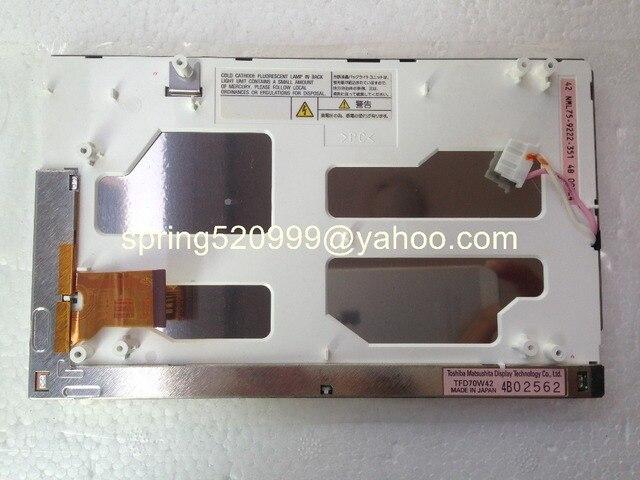 Новый 7-дюймовый дисплей Matsushita TFD70W42 TFD70W41 ЖК-дисплей экран монитора для Subaru Tribeca автомобиль DVD навигации gps аудио радио