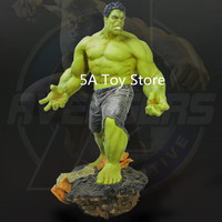 EMS Free Shipping Avengers 3 Infinity War Big Hulk Home Decoration Statue Collection Model 65CM Retial Box