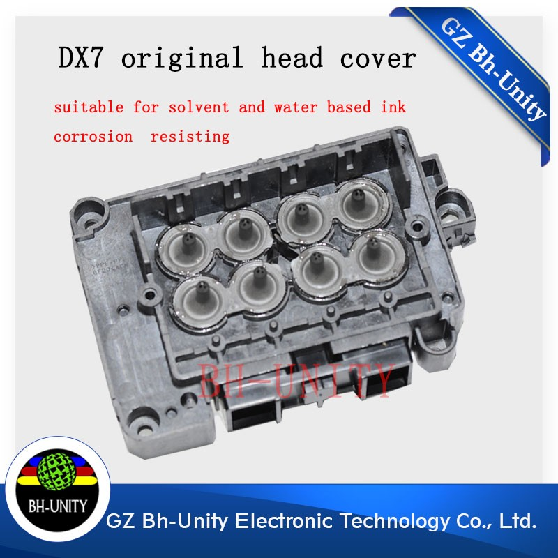 Best price!! eco solvent Dx7 printhead cover for outdoor large format xenons printer spare parts best price for mimaki sj740 printer printhead cap station