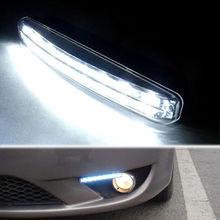 Барбекю @ FUKA 2x12V автомобильный светильник 8LED белый осветительный противотуманный Габаритные огни светильник s DRL, пригодный для BMW Benz Audi Ford VW ...