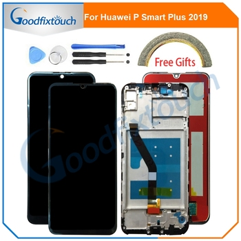 For Huawei P Smart Plus 2019 LCD Display Touch Screen Digitizer Assembly With Frame For Huawei P Smart+ 2019 PSmart Repair Parts фото