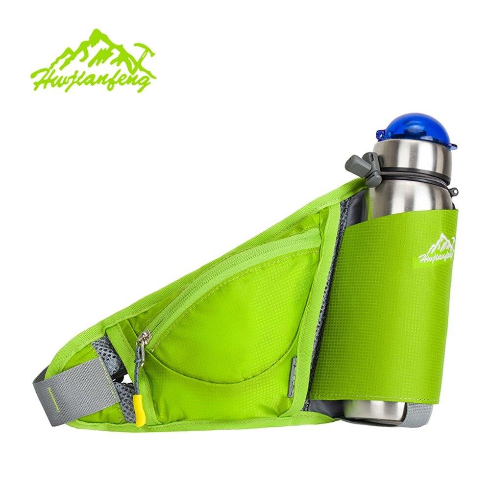 Sports Bottle Phone Case: 2057 Women Waist Pack Sports Water Bottle Holder Outdoor
