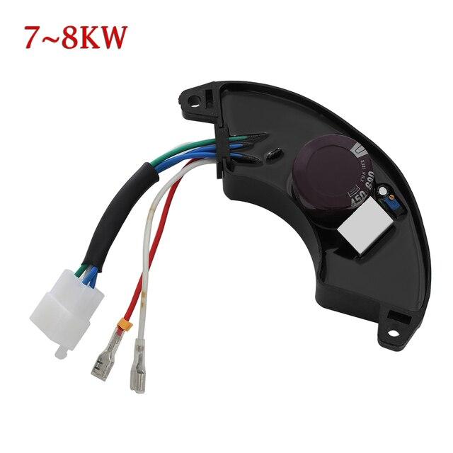 1 pc novo universal monofásico avr regulador de tensão automático retificador estabilizador 7kw 8kw gerador regulador