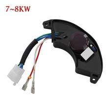 1PC nowy uniwersalny jednofazowy automatyczny Regulator napięcia AVR stabilizator prostownika 7KW 8KW Regulator generatora