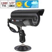 New HD 1300TVL 36IR 3.6mm LEDs Sony CMOS CCTV Security Camera Waterproof Day Night