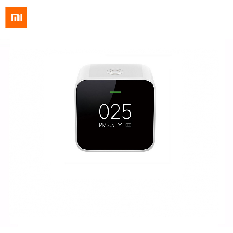 Original Xiaomi PM2.5 Detector Sensor Air Quality Monitoring High-precision Laser Sensor OLED Screen Using With Smart Home