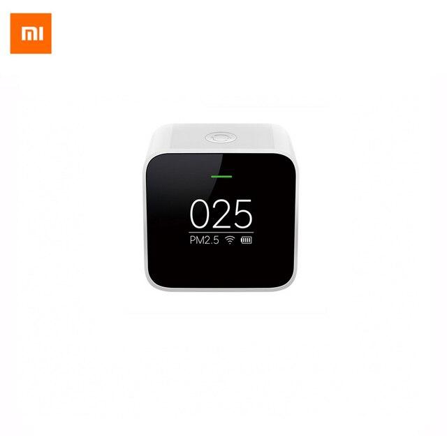 Original Xiaomi PM2.5 Detector Sensor Air Quality Monitoring High-precision Laser Sensor OLED Screen Using With Smart Home