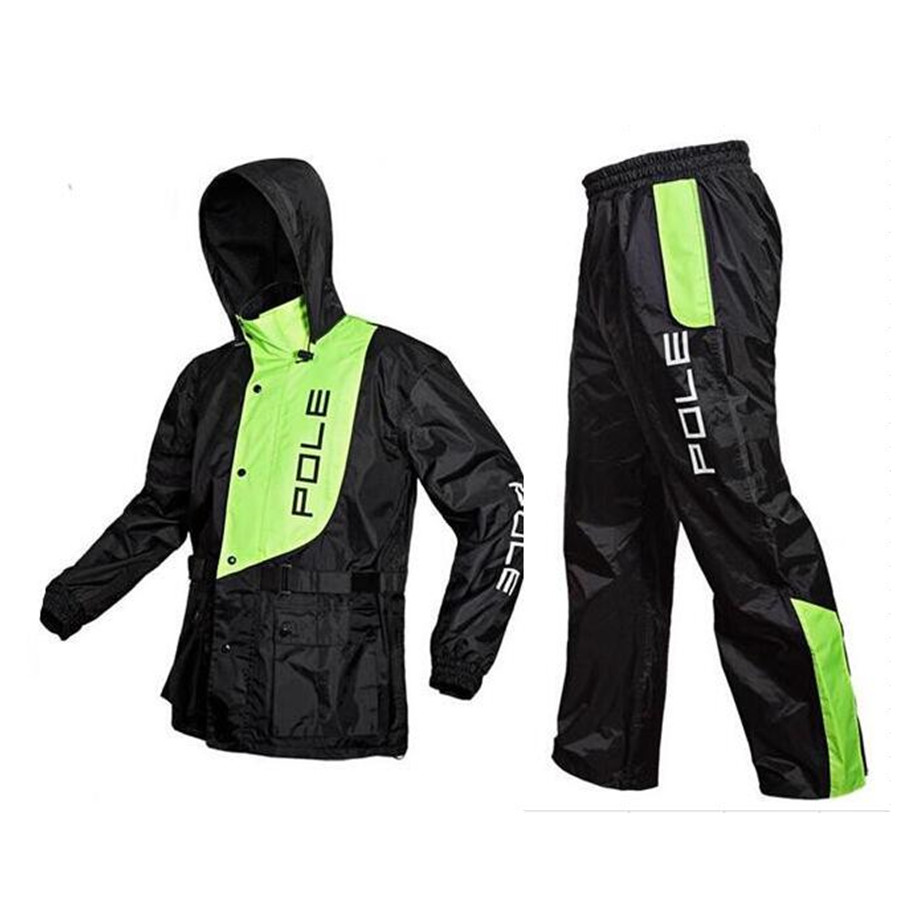 Quick-Dry Cycling Jersey Rainproof Bike Bicycle Riancoat Rain Coat Poncho Cycling Jacket Cycling Clothes Windcoat santic men s cycling hooded jerseys rainproof waterproof bicycle bike rain coat raincoat with removable hat for outdoor riding