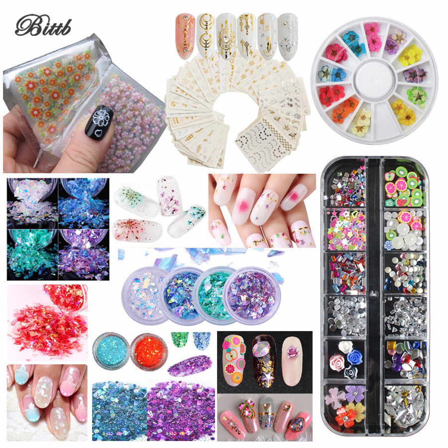 Detail Feedback Questions about Bittb 3D Nail Art Decorations Nail ...