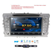 2 Din AutoRadio Car DVD Player For Ford Focus 2 3 C S Max Mondeo Galaxy 2008 2009 2010 2009 2010 Head unit Audio SWC BT(China)