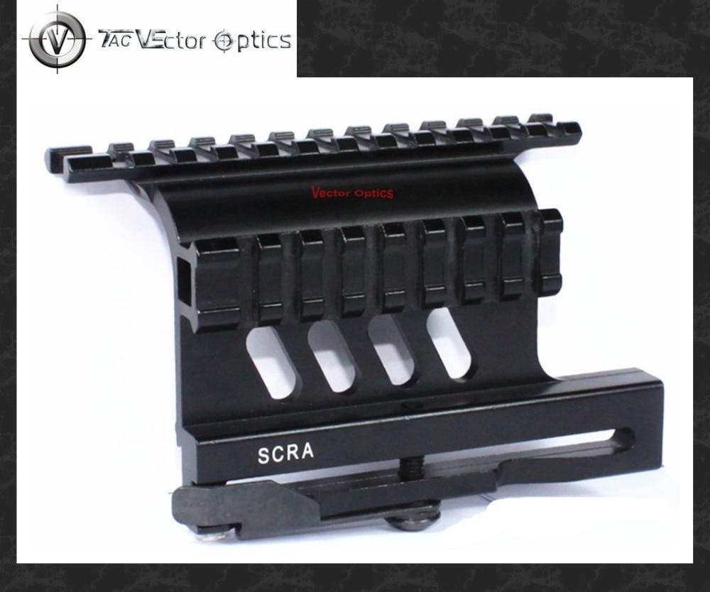 Vecteur optique tactique série AK Double Picatinny tisserand Rails QD montage latéral Style de dégagement rapide ajustement 47/74 accessoires