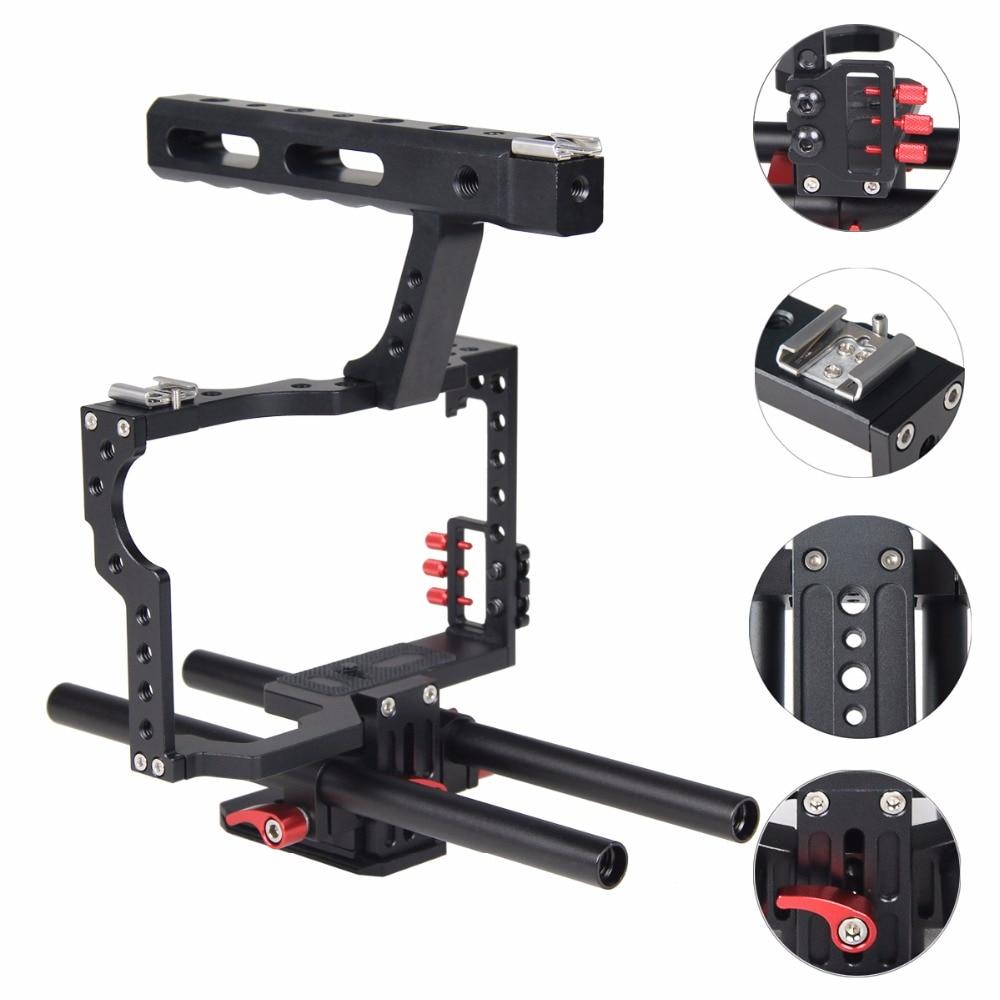 Mbështetës për stabilizuesin e kafazit me kamera DSLR me sistem - Kamera dhe foto - Foto 4