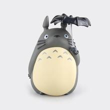 20CM Japanese Animation Miyazaki Hayao TONARINO TOTORO Toys PVC My Neighbor Totoro Piggy Bank Action & Toy Figures GH0102