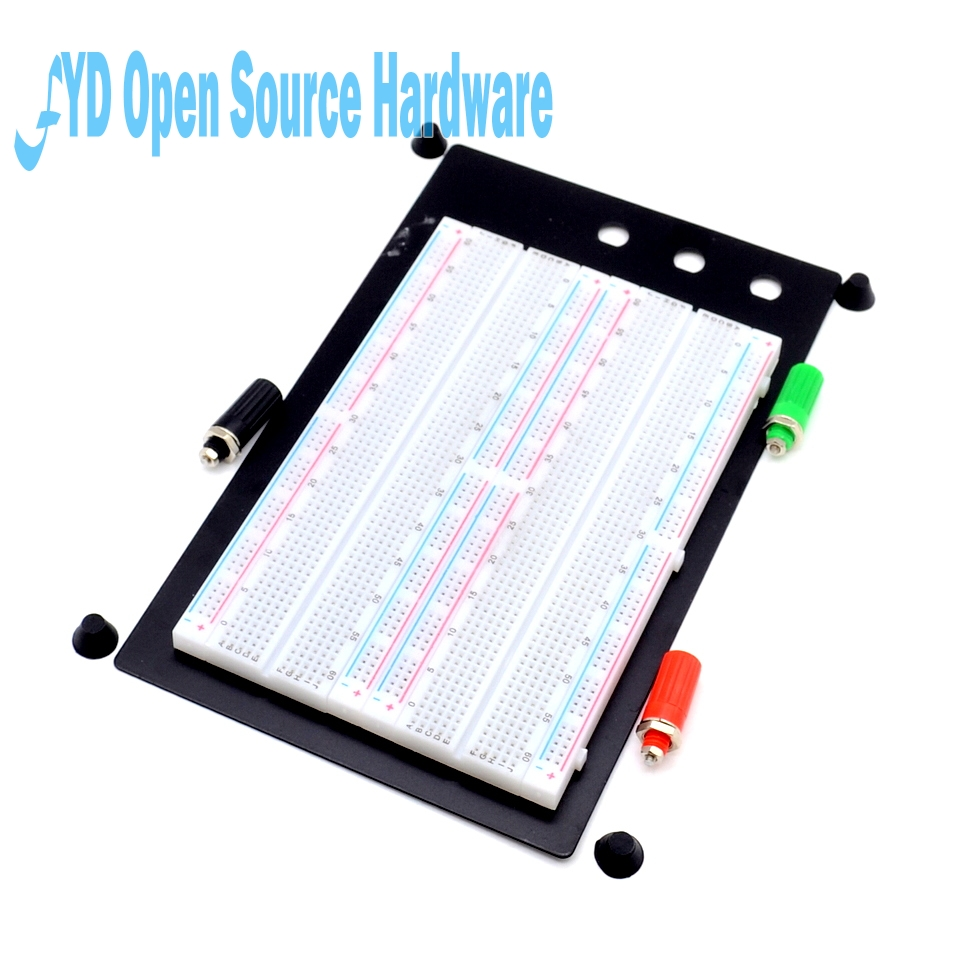 1pcs Solderless Breadboard Protoboard 4 Bus Test Circuit Board Tie-point 1660 ZY-204