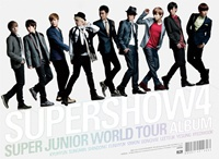 SUPER JUNIOR THE 4TH WORLD TOUR SUPER SHOW 4 Release Date 2013-6-28 KPOP игрушки животные tour the world schleich