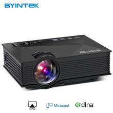 BYINTEK BT460 WIFI Heimkino Mobile HDMI USB LCD Pico Video Tragbare Mini Spiel FÜHRTE Projektor Proyector Für Iphone Android