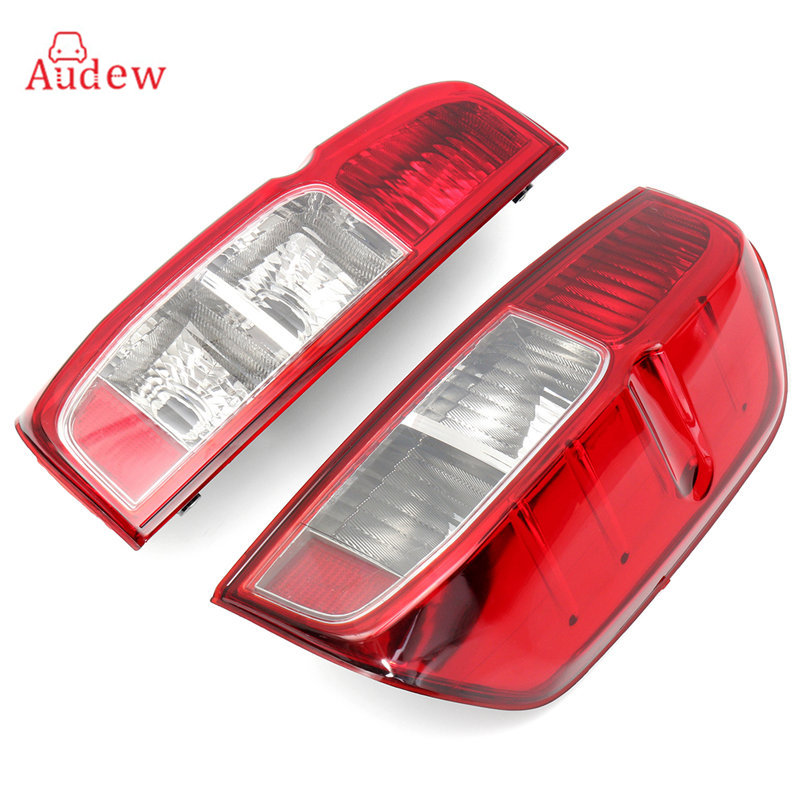1Pcs Tail Light Assembly Car Rear Tail Light Driver Passenger Lefr/ Right Side For Nissan NAVARA D40 2005-2015 1pcs black holder outer rear tail lamp taillight right passenger side 8330a622 for mitsubishi lancer evo 2006 2012