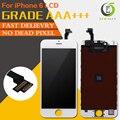 10 unids/lote aaa pantalla táctil negro o blanco para el iphone 6 LCD 4.7 reemplazo OEM asamblea con el Envío Libre de DHL