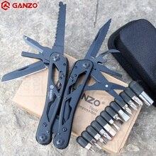 Универсальные инструменты G202B Ganzo, многофункциональный нож плоскогубцы складывающиеся инструменты для повседневного использования многофункциональные складывающиеся плоскогубцы отвертка биты мини ножницы для похода