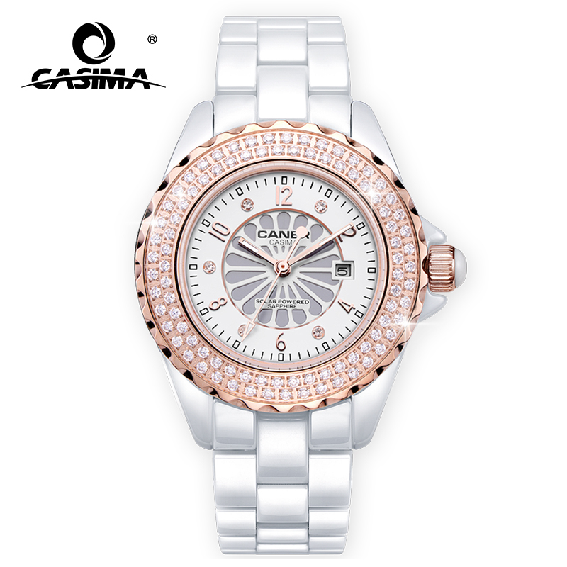 Nouvelle marque de luxe montres hommes mode classique Sport hommes solaire montre-bracelet étanche 100 m CASIMA #6907