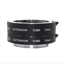 DG-NEX Aluminum Auto Focus AF Macro Extension DG Tube Auto Focus With Full Frame for Sony E-Mount A7 AR7 A7M2 A6000