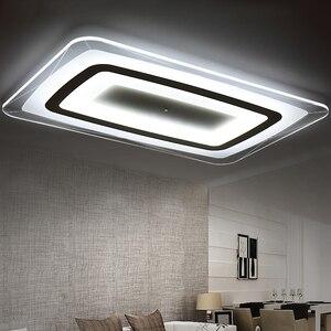 Image 3 - חדש מודרני LED תקרת אורות עם 2.4G RF מרחוק קבוצת Dimmable נשלט צבע לשינה בסלון led תקרת מנורות