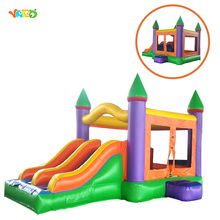 Best Selling Commercial Inflatable Combo Bouncer Moonwalk with Slider