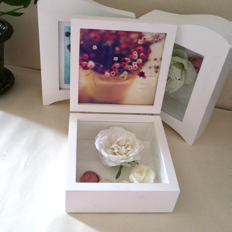 Wholesale immortal flower frame diy gift box thick 5cm three ...