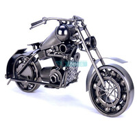TOP COOL ART Vintage METAL Pure hand Retro iron Classic motorcycle model HOME office BAR RETRO TOP Decor art # Z1024