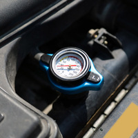 0 9 1 1 1 3 Bar Safety Thermo Radiator Cap Cover Suitable For Japan Brand