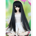 BJD Wig Doll Hair for 1/4 Dolls,6 Colors Doll Wig Straight Hair Accessories for Dolls
