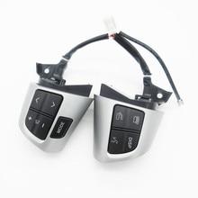 Pad de dirección Interruptor de Botón de Control 84250-02230 Para TOYOTA COROLLA ZRE15 NDE150 NRE150 ADE150 ZZE150 2007-2013