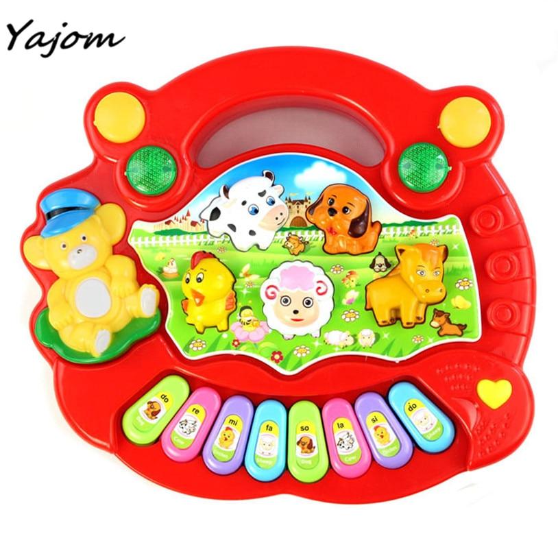 Nieuwe Baby Kids Musical Educatief Piano Animal Farm Developmental - Leren en onderwijs