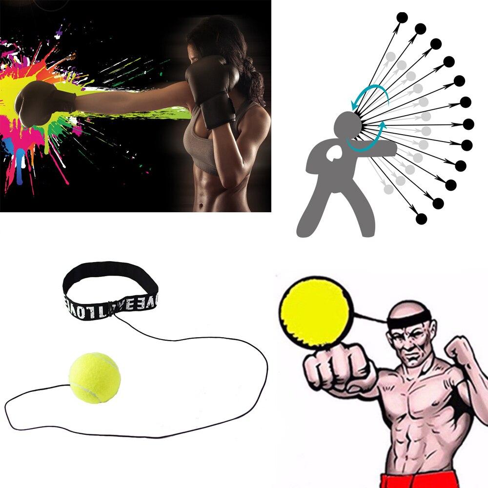 Мяч для борьбы боксерское оборудование повязка на голову для рефлекс Скорость Обучение