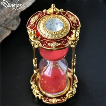 luxury 15min gold /silver metal sand timer sablier decoration sand watch douche timer for home decoration Hg004 creative 15min metal sand timer sablier decoration sand watch liquid timer liquid hourglass hour glass sand timer hg006